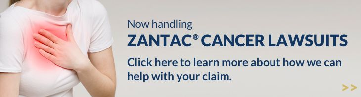 Zantac Cancer Attorneys