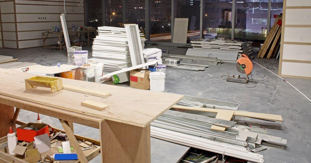 COVID-19 Shutdown of Construction Site