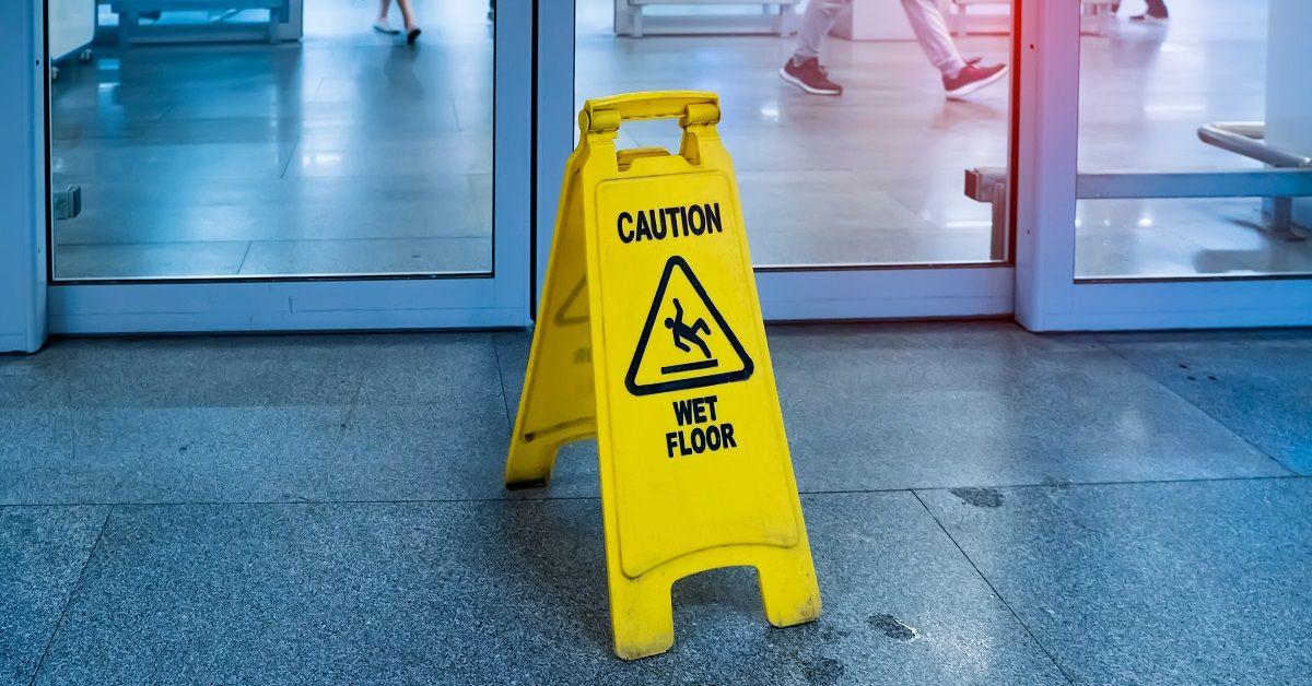 Slip and Fall Injury Hazard